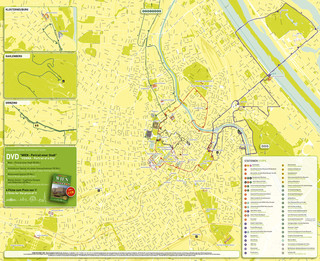 Carte de bus touristique et hop on hop off bus tour de Vienna SightSeeing